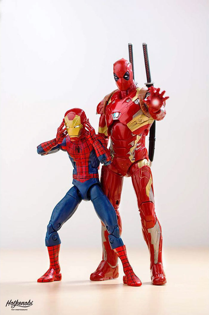 Action Figures Come To Life In Stunning Images By Japanese ...