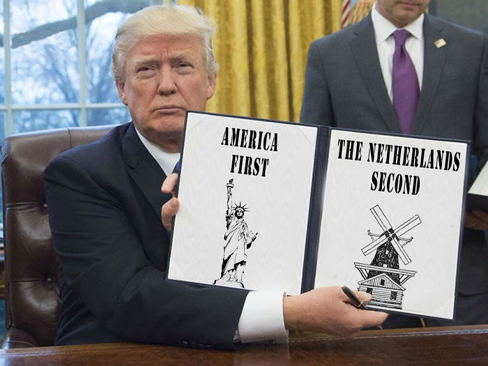 America First, The Netherlands Second!