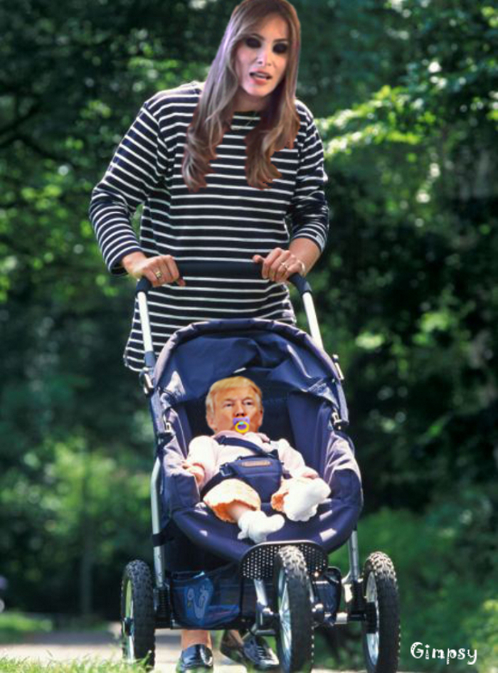 The Presidency Is Just A Walk In The Park…