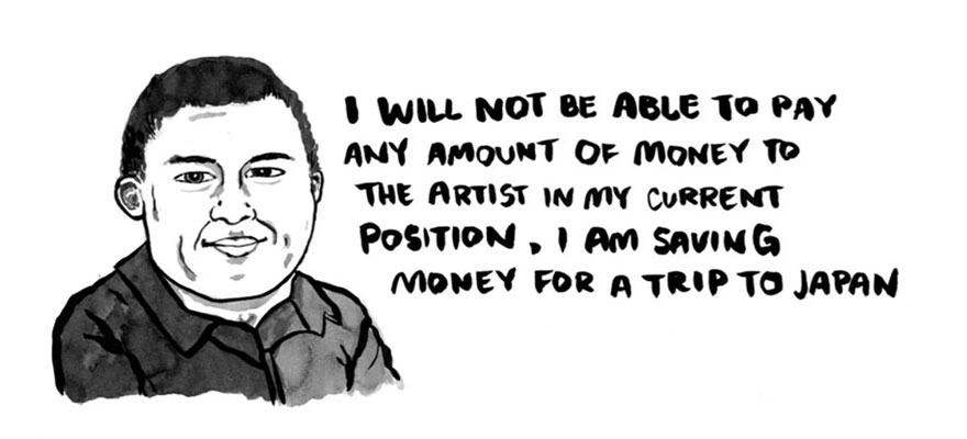 The People Who Want Artists To Work For Free