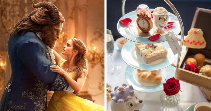 Beauty And The Beast Tea Room Exists In London, And You'll Want To Be Their Guest