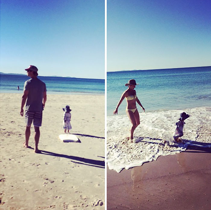 """Beach Time With Family"""
