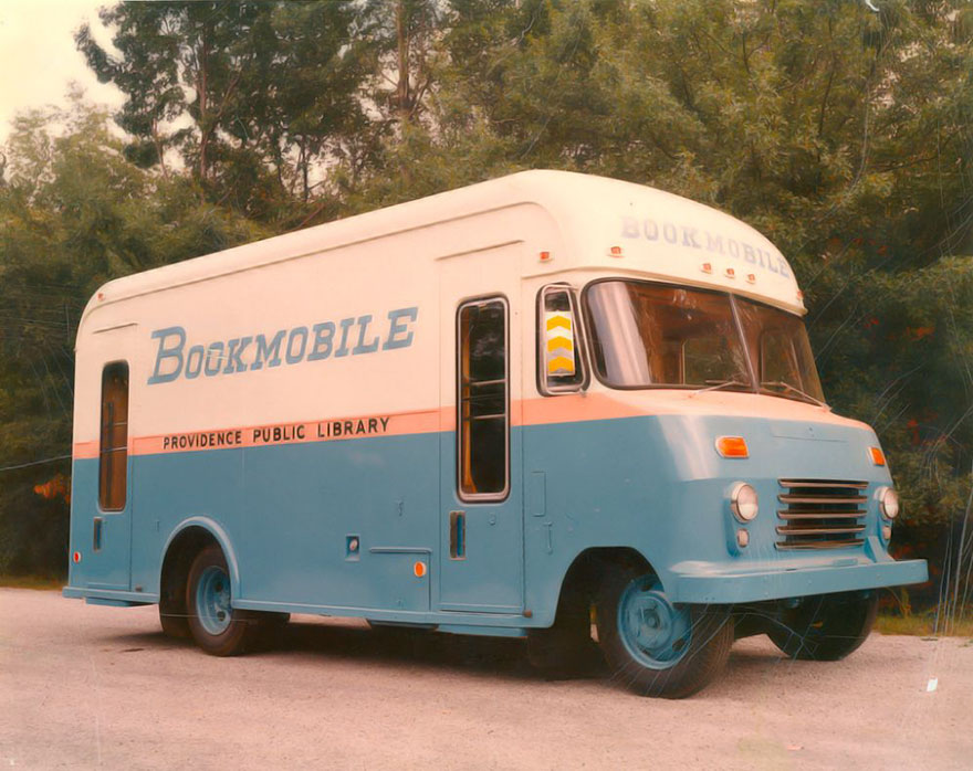The Bookmobile Of Providence Public Library, 1967