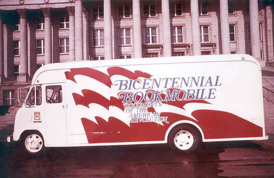 The Bicentennial Bookmobile In Utah, 1976