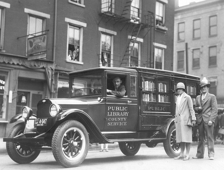 The Library's Bookmobile