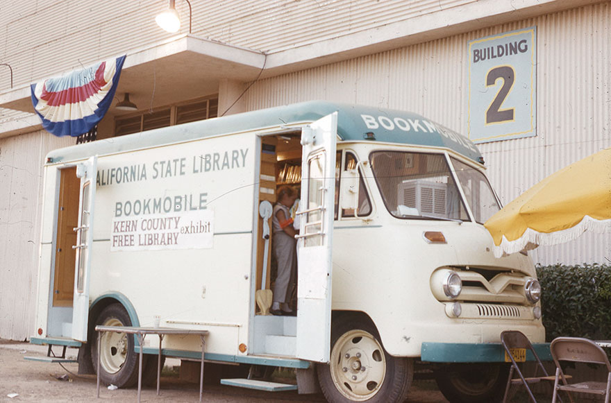 California State Library Bookmobile, C. 1950