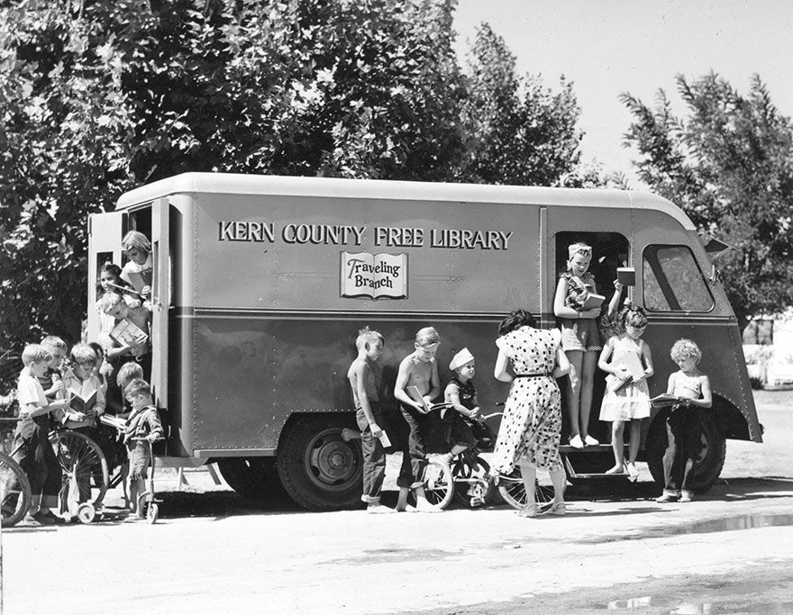 Bookmobile, Southgate District, C. 1920s