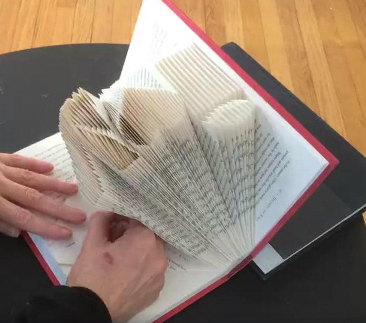 Artist Folds Books Into Sculptures Junk Host