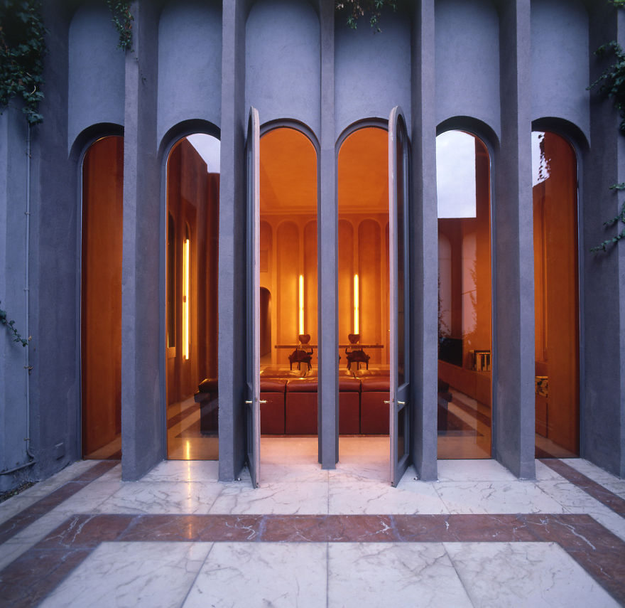 Architect Turns Old Cement Factory Into His Home, And The