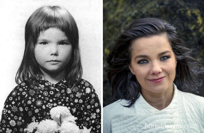 10+ Rare Celebrity Childhood Photos Show Barely ...