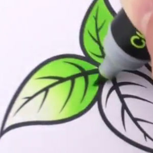 Chameleon Pens Create Depth By Changing Their Tone