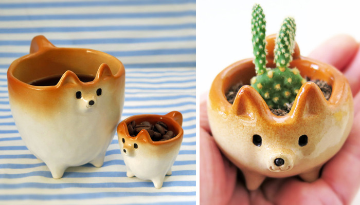 My Shiba Inu Ceramics That I Create To Bring Smiles To People's Faces