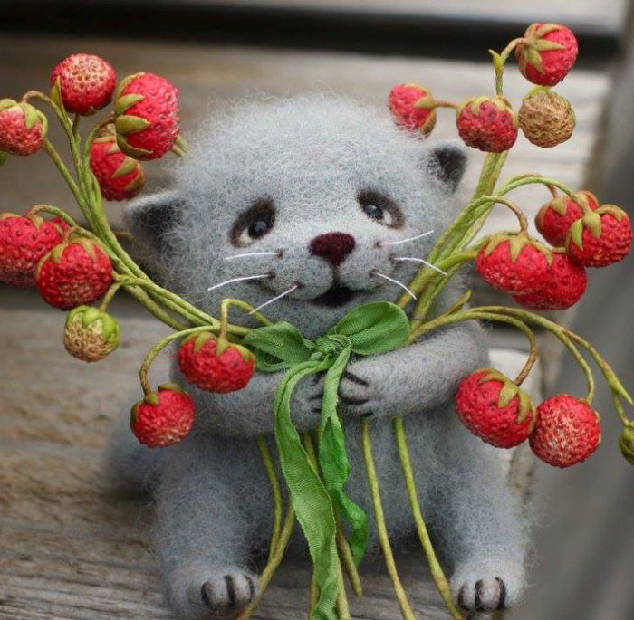 Mood Boosting Felted Toys By A Russian Artist Diana Latysheva