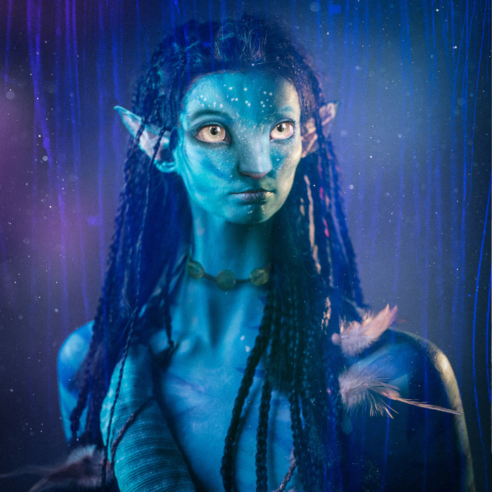 We Transformed This Shy Model Into Real-Life Avatar Neytiri