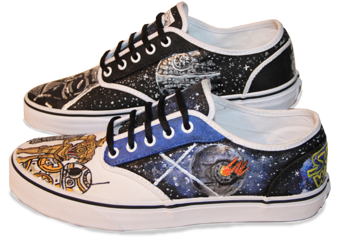 I Spend Up To 12 Hours Painting On Shoes