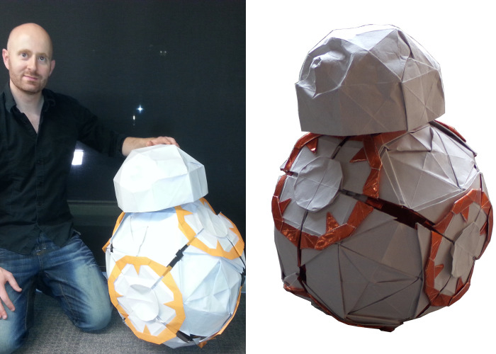 Fold Your Own Origami Bb8 Droid