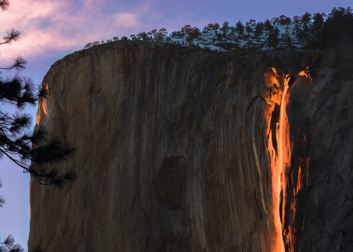 I Photograped A Real Firefall
