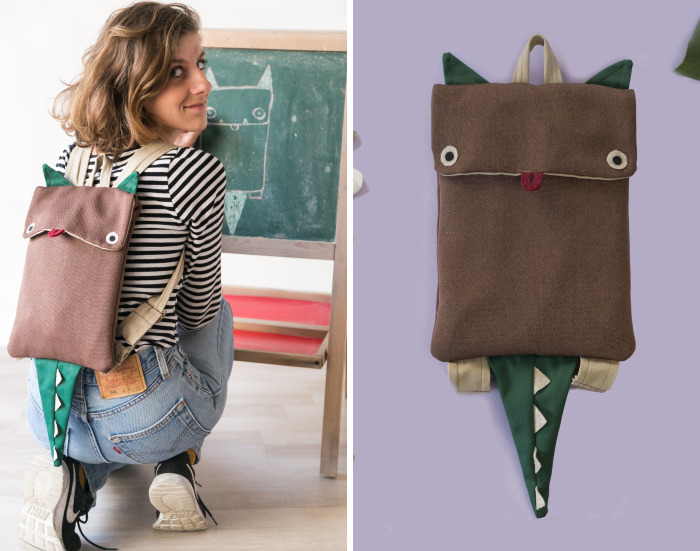 I Combine All My Passions To Create These Lovely Animal Backpacks
