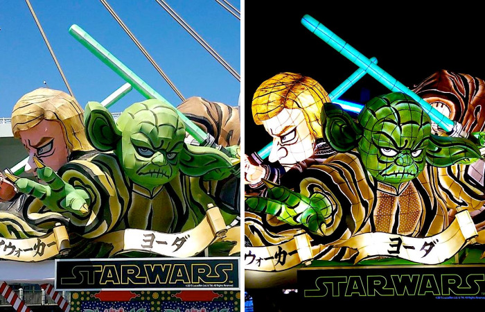 Star Wars Depicted As Japanese Festival Floats