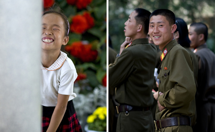 I Have Seen North Korean People Smiling!