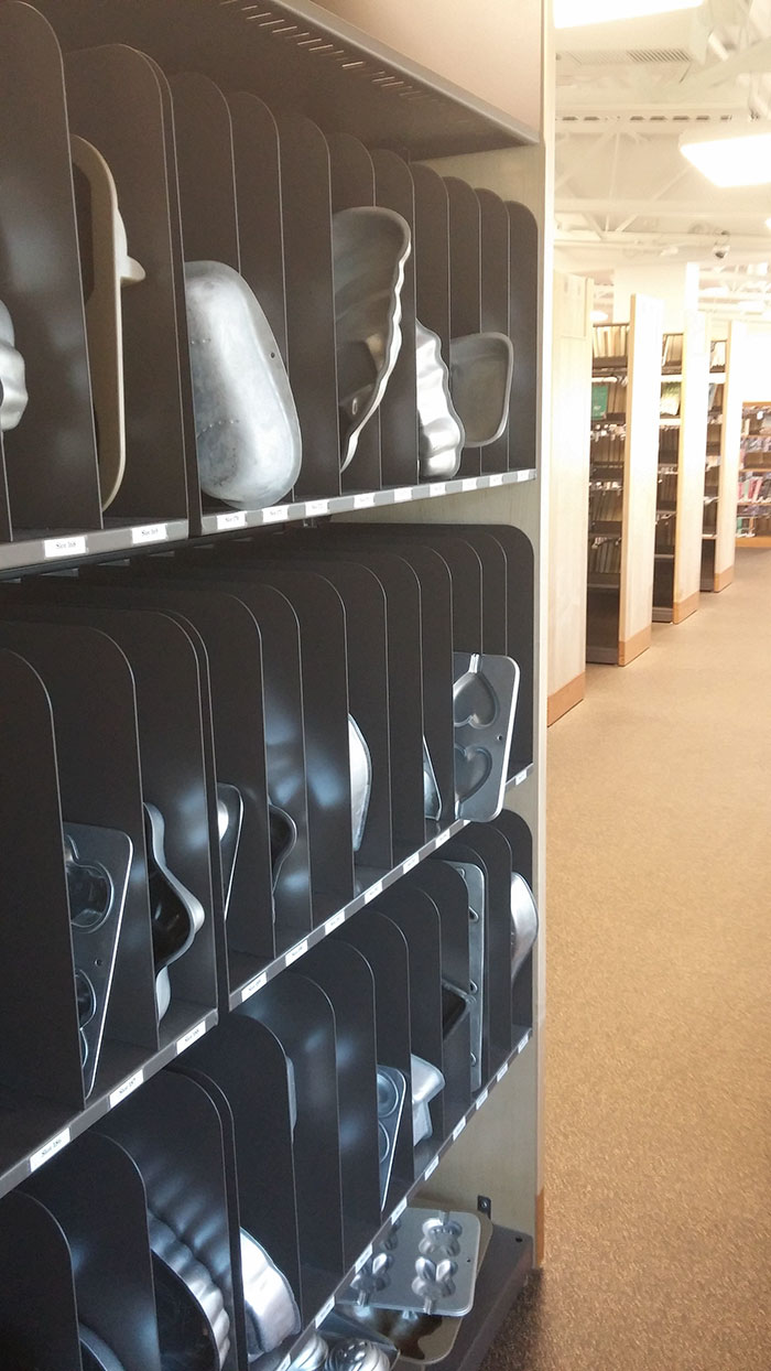 This Library Has Dozens Of Different Cake Pans To Borrow