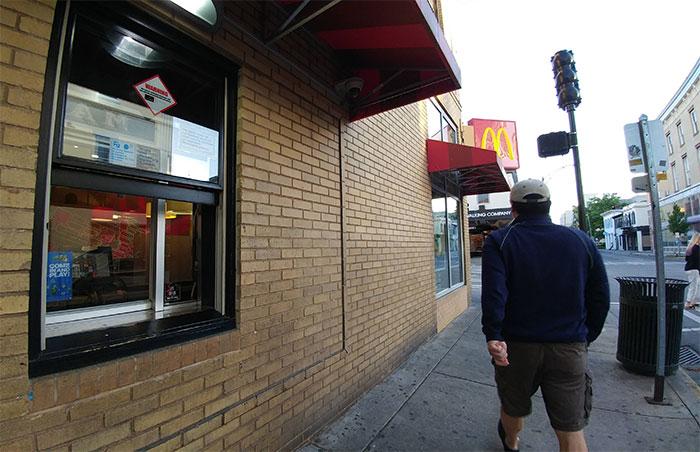 This McDonalds Has A Walk-Through
