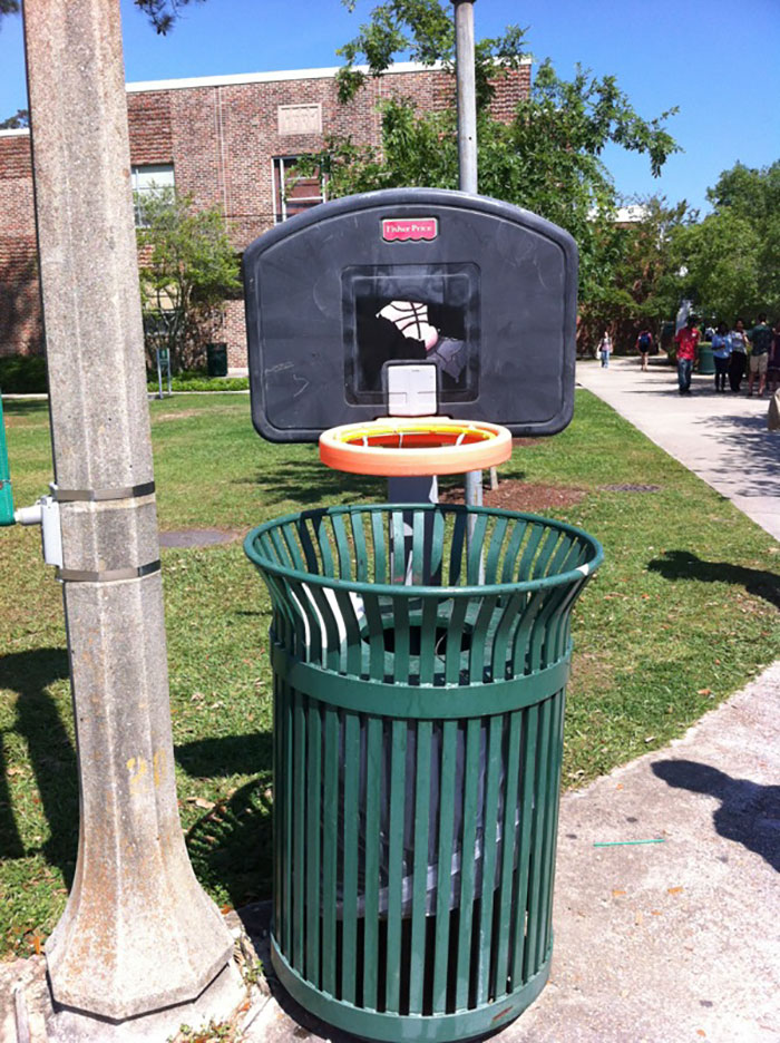 One Way To Stop Litter On Campus