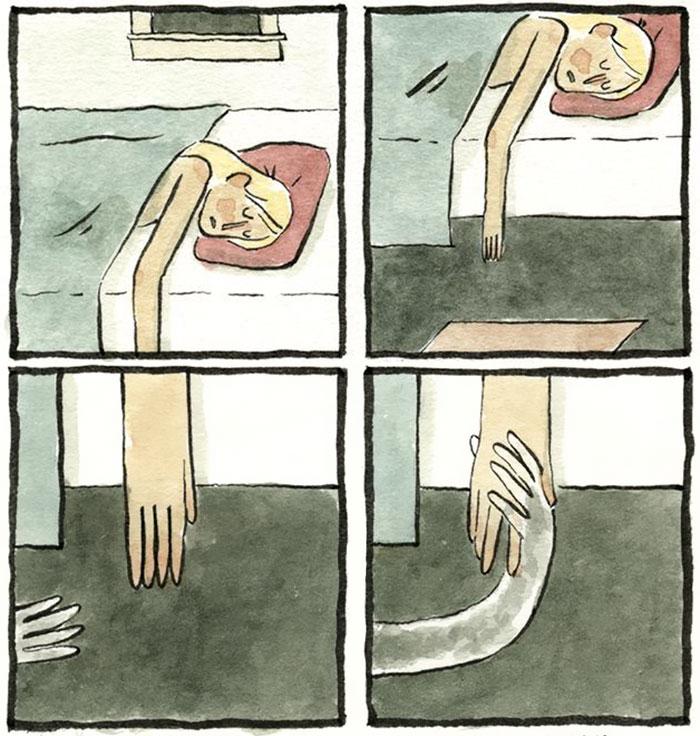 Este ilustrador convierte en cómics los miedos más profundos e irracionales de la gente (2ª parte)