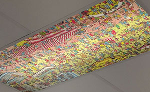 This Dentist Has A Ceiling 'Where's Waldo?' For Patients To Look At During Appointments