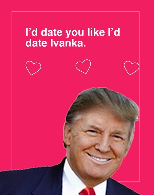 Trump Valentine's Day Cards