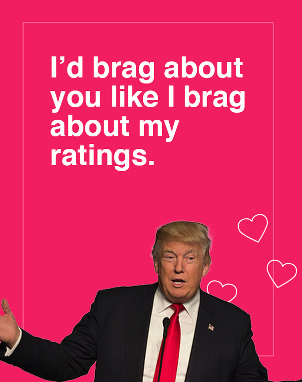 10 Donald Trump Valentines Day Cards Are Going Viral And They