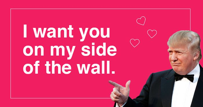 12 Donald Trump Valentine's Day Cards Are Going Viral, And They're Hilarious | Bored Panda