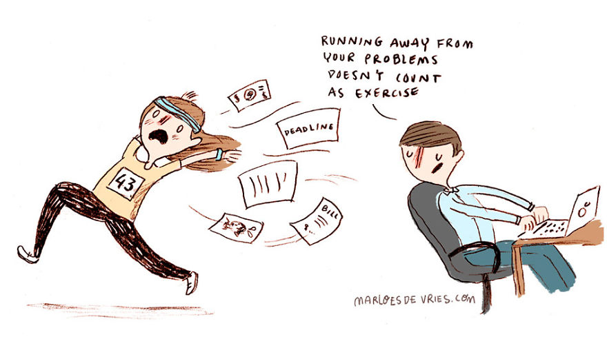 15 Comics In Which I Try To Be An Adult But Fail Miserably