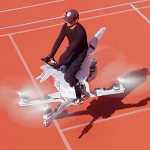 World's First Fully-Manned Hoverbike