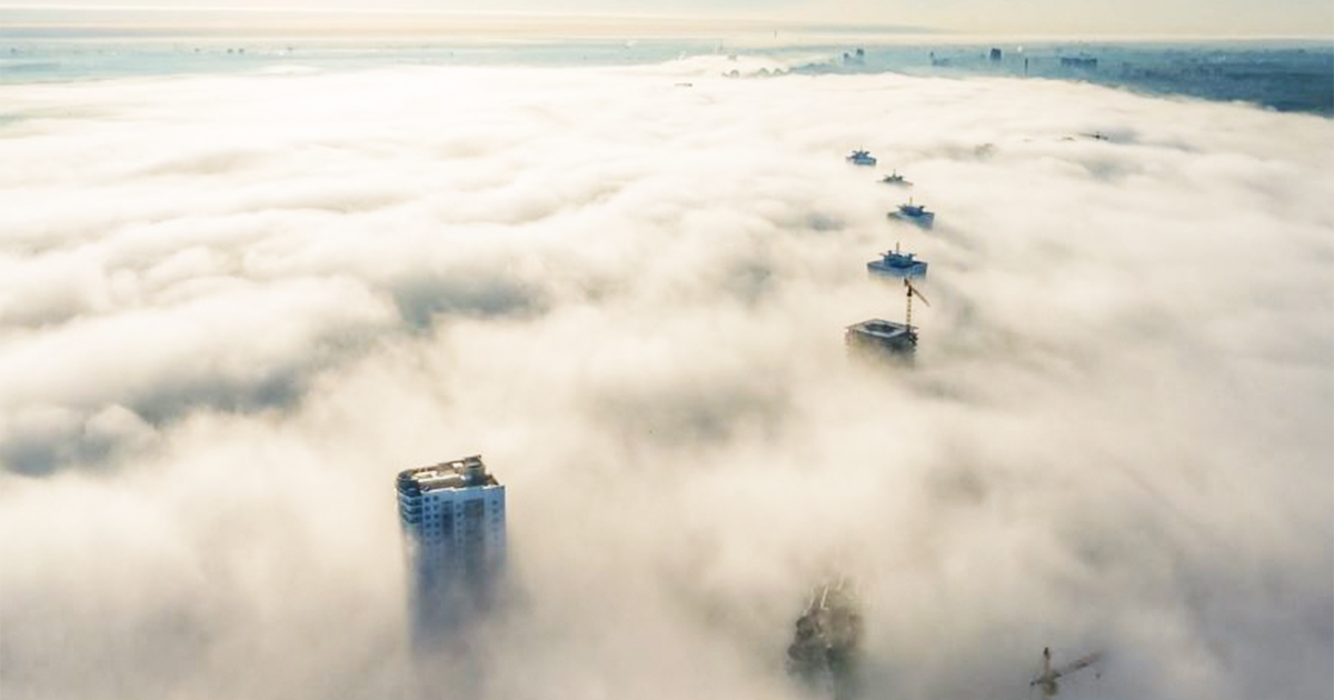 Unbelievable Drone Timelapse of Minsk, Belarus Will Make You Want To Live There