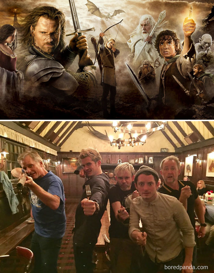 Lord Of The Rings: 2001 Vs. 2017