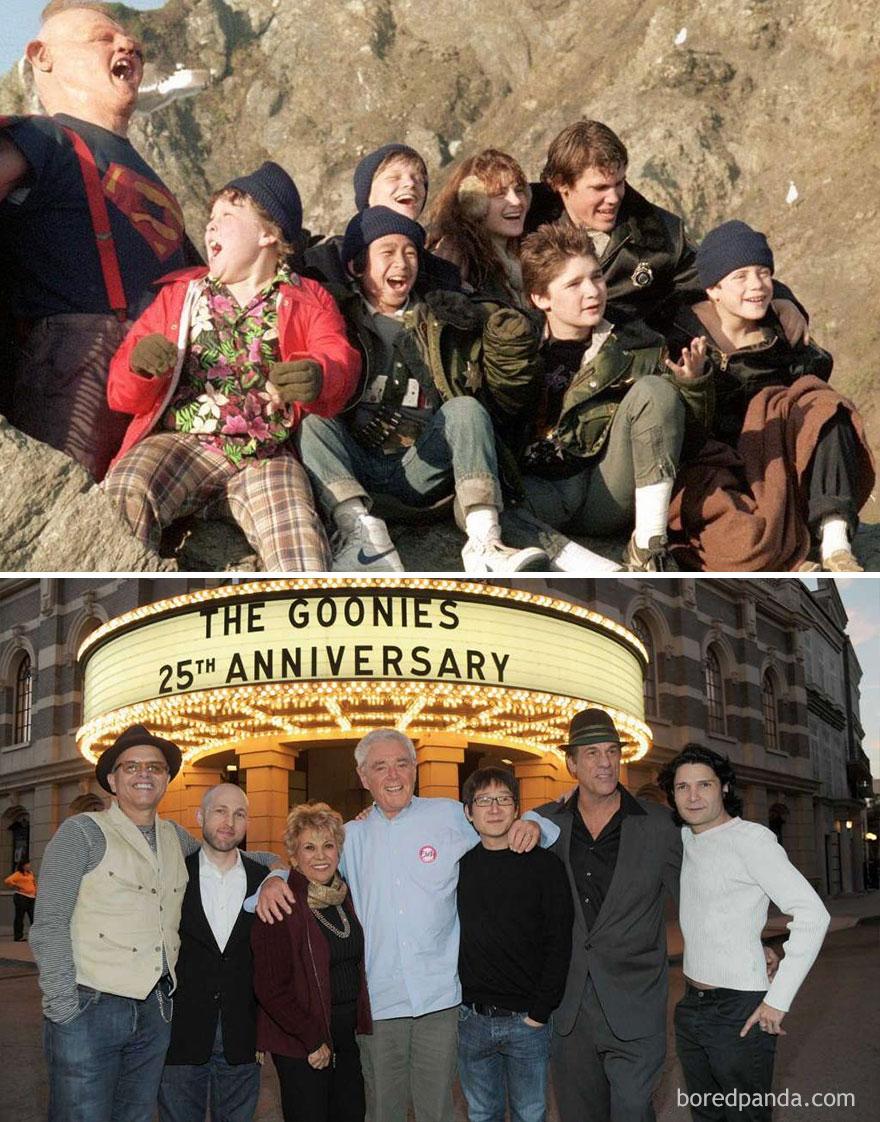 The Goonies: 1985 Vs. 2015