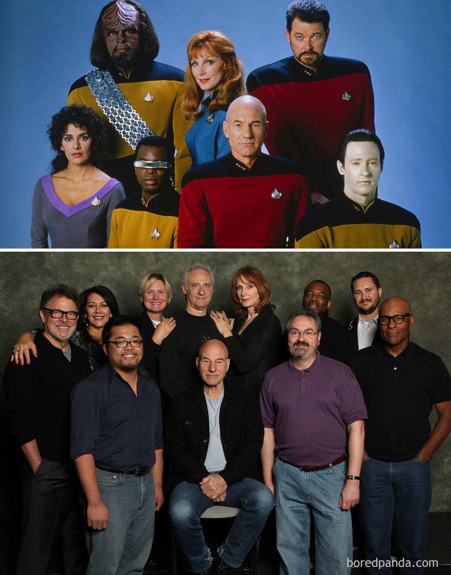 Star Trek: The Next Generation 1987 Vs. 2012