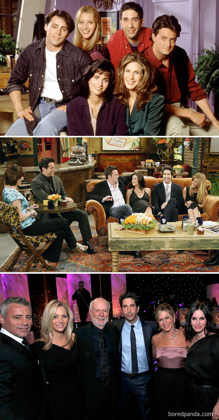 Friends: 1994 Vs. 2004 Vs. 2016