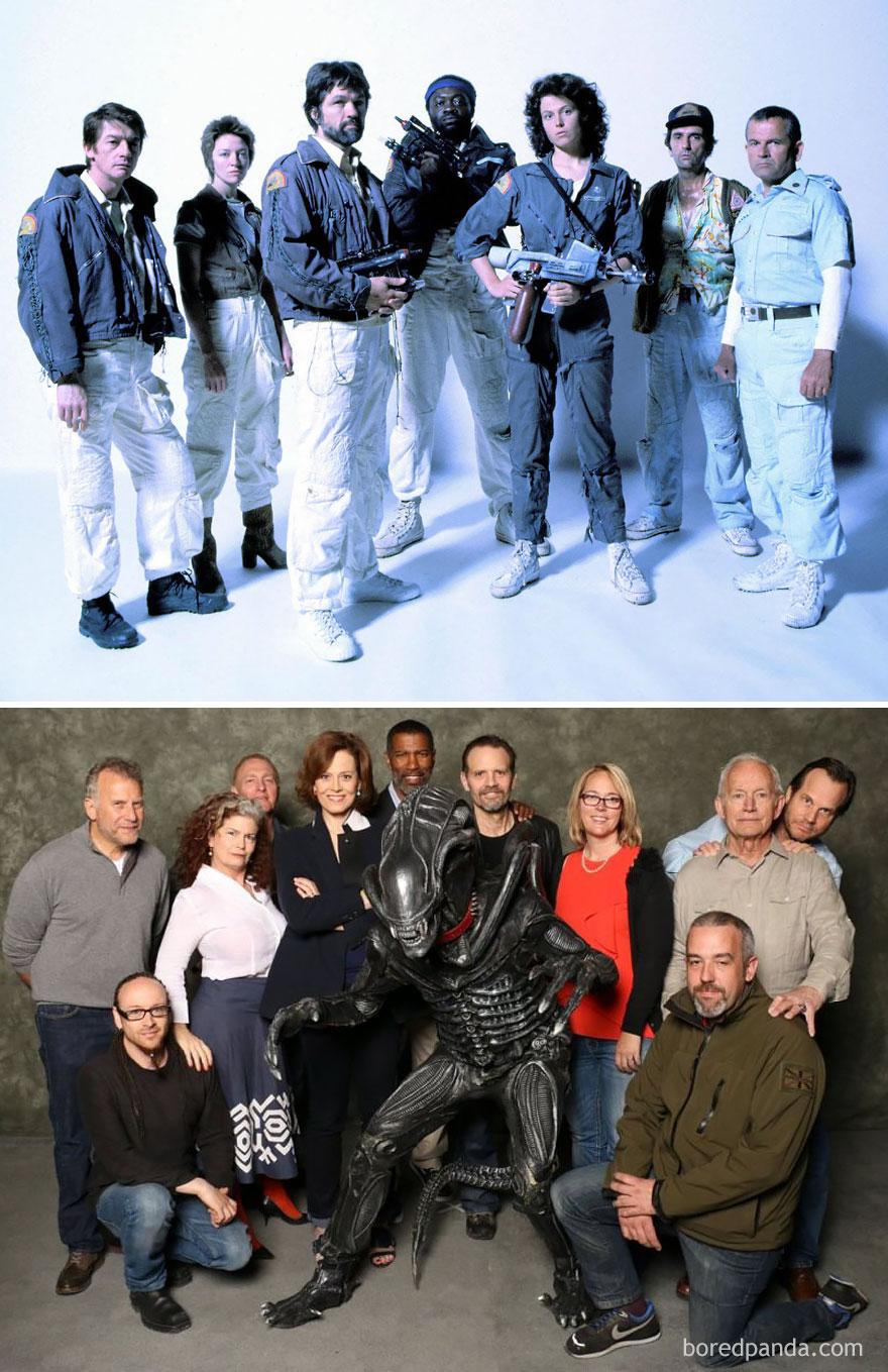 Aliens: 1986 Vs. 2014