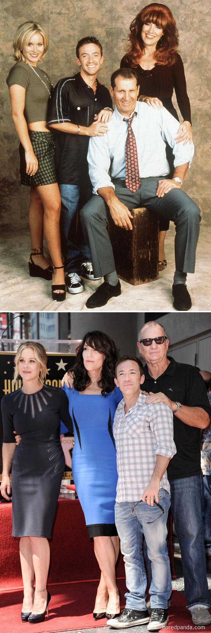 Married With Children 1987 Vs. 2014