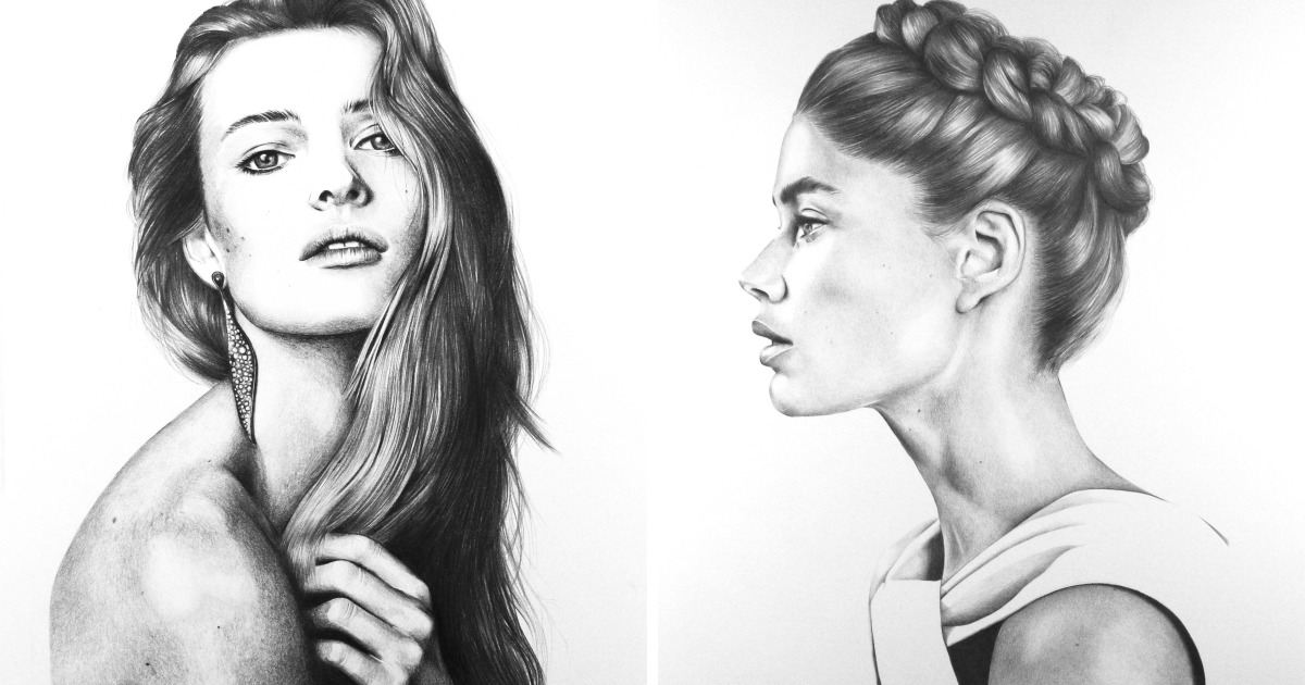 I Create Pencil Drawings That Take A Lifetime To Draw