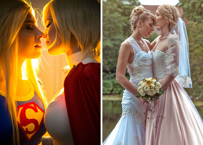 These Two Female Cosplayers Got Married And Their Wedding Looked Like A Real-Life Fairytale