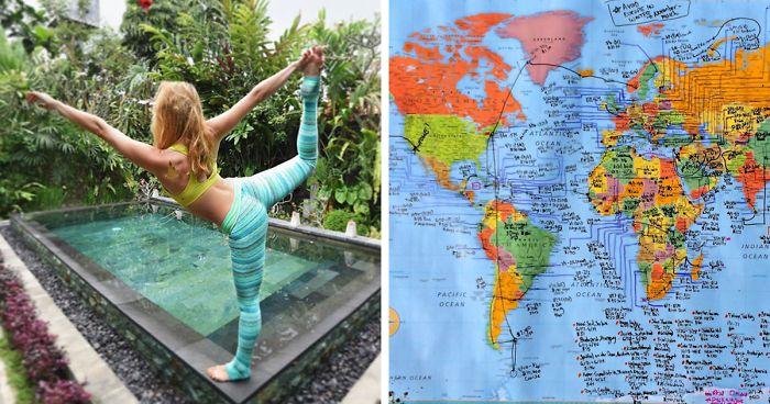 Esta chica de 27 años se convierte en la 1ª mujer en visitar todos los países de la Tierra, así es como lo hizo
