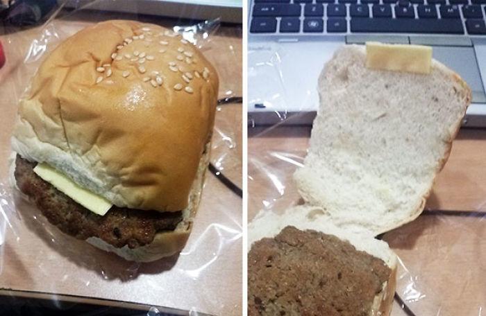 """Hamburguesa """"Con Queso"""" De Las Calles De Manila"""