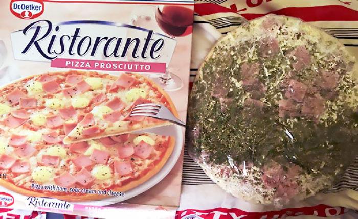 """Pizza Con Un """"Toque"""" De Orégano"""