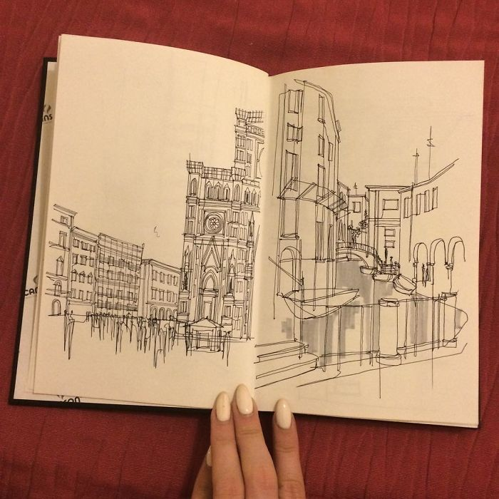 Sketch, Different Inspirations, Florence/venice