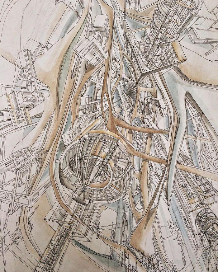 Fantasy Architecture Concept