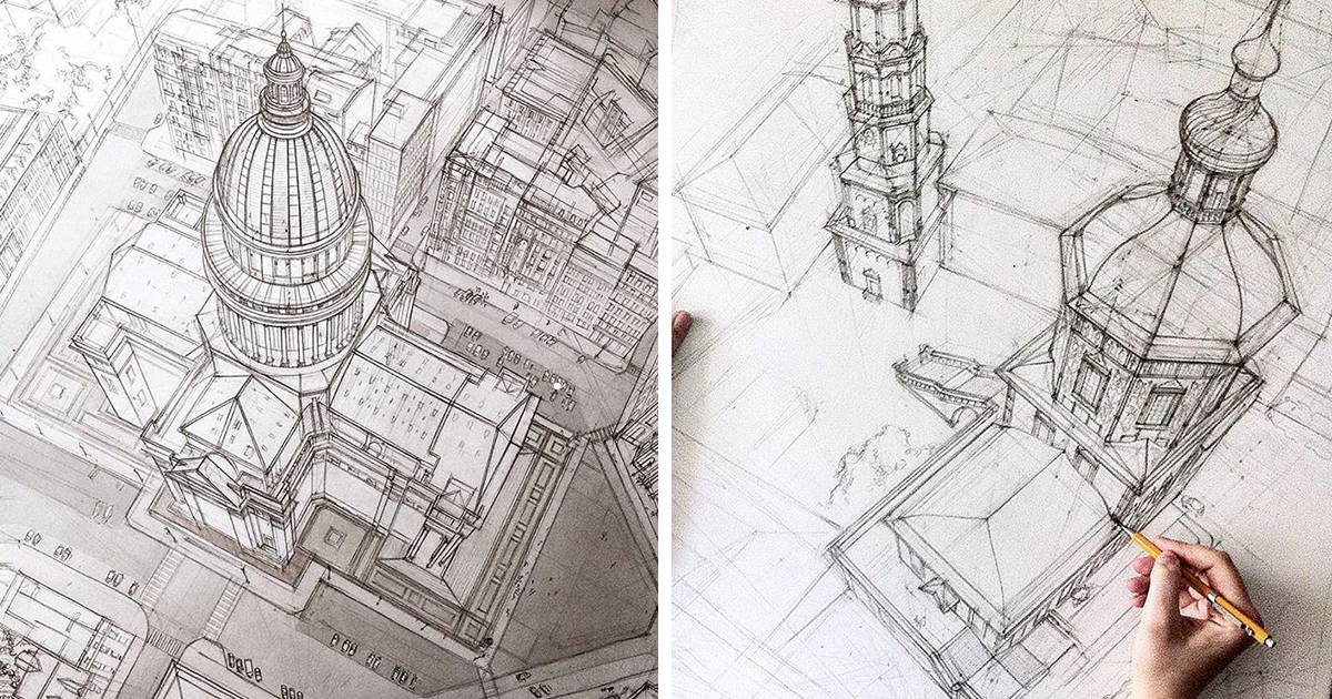 how to show glass in architectural drawings