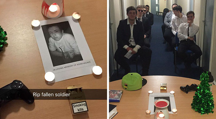 Guy's Friends Hold Funeral For Him After He Finds Girlfriend